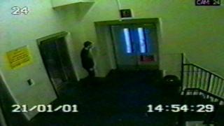 CCTV of Innes Ewart