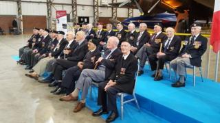 Veterans at Elvington Airfield