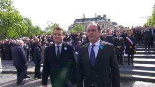 انتخاب امانوئل مکرون به عنوان رئیس جمهوری فرانسه با واکنش های زیادی همراه بوده.