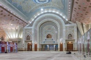 Mausoleum of Ruhollah Khomeini interior, Tehran, Iran