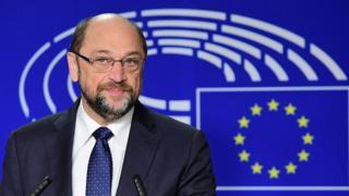 глава Європарламенту Мартін Шульц