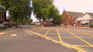 Derby Road Nottingham crash