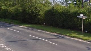 Road near Strensall