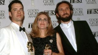 Tom Hanks, Wendy Fineman and Winston Groom