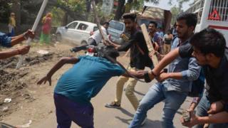 பாரத் பந்த்: மத்தியபிரதேசம் மற்றும் ராஜஸ்தானில் 7 தலித்துகள் பலி