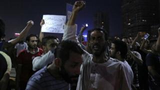 مصر، مظاہرین