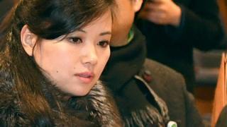 현송월 단장은 지난 2월 평창동계올림픽 기간 삼지연관현악단의 공연을 주관했다