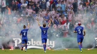 Abakinnyi ba Croatia