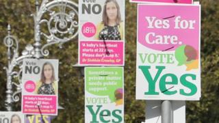 Plakati - referendum u Irskoj, 2018.