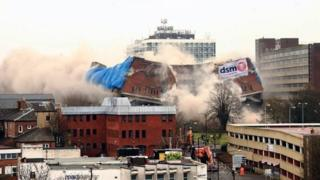 Greyfriars bus station demolition