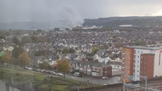 Penarth Road fire