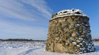 Memorial at Culloden Battlefield
