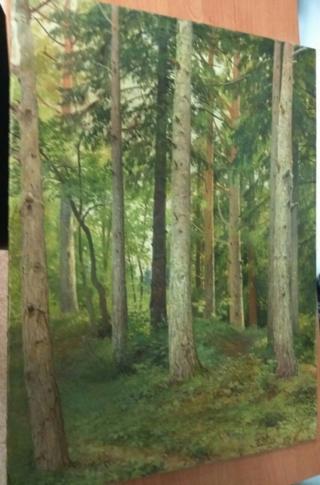 изъятая картина Шишкина