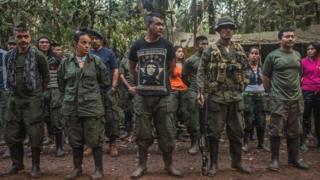 Waasi wa kundi la Farc nchini Colombia