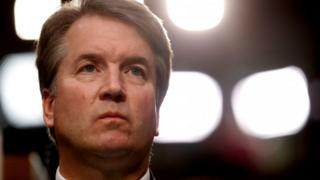 US Supreme Court Nominee Judge Kavanaugh during his Senate confirmation hearing in Washington