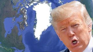 Trump - map Google Earth