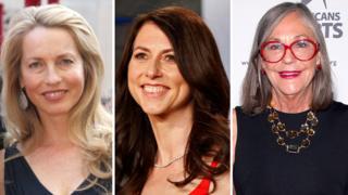 Laurene Powell Jobs, MacKenzie Bezos, Alice Walton