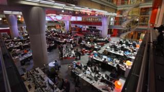 Redação da BBC em Londres
