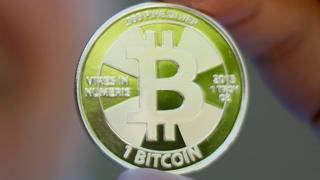 A physical Bitcoin