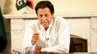 पाकिस्तानचे नवनियुक्त पंतप्रधान इमरान खान