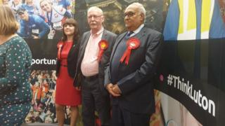 Sian Timoney (Lab), David Taylor (Lab) and Mahmood Hussain (Lab)