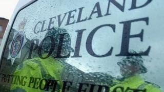 Cleveland Police van