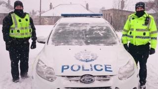Police in Edinburgh