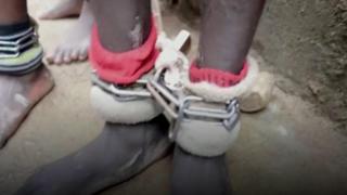 """اكتشاف """"بيت للتعذيب"""" في نيجيريا"""