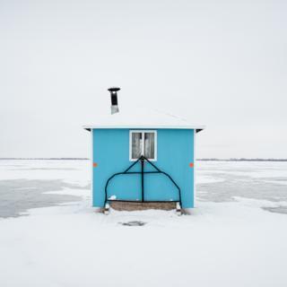 A fishing hut
