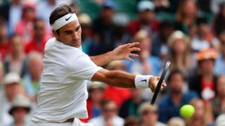 Đây là trận thắng thứ 100 đơn nam và là bán kết thứ 12 tại Wimbledon của anh.