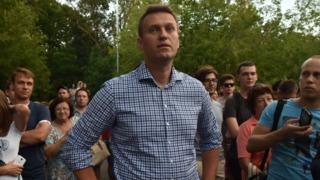 """Алексей Навальный на митинге против """"Закона Яровой"""""""