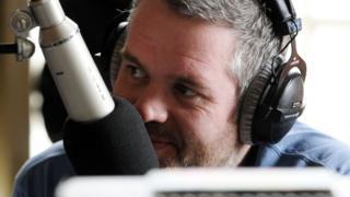 Chris Moyles on Radio 1
