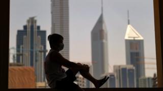 قرنطنیه خانگی در دوبی
