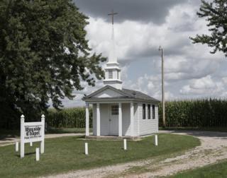 A small roadside church