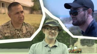 Участники российско-грузинской войны: Гига Джинчарадзе, Арслан Устарханов и Тамерлан Тадтаев.