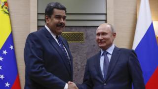 Maduro y Putin.