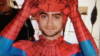 Daniel Radcliffe Spiderman