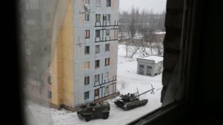 Avdeyevkada tanklar