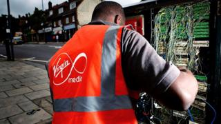 Virgin Media technician