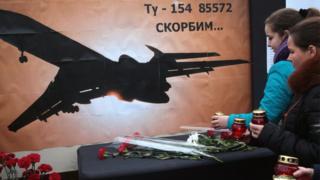 Memorial for Tu-154 crash victims in Simferopol, Crimea, 26 Dec 16
