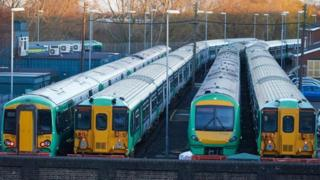 Southern Rail trains