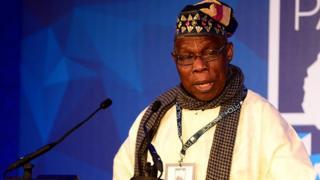 Olusegun Obasanjo dey talk