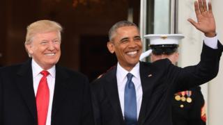 Trump dan Obama