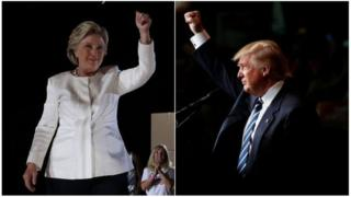 Umupfasoni Hillary Cliton na Donald Trump