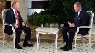Путин ва журналист