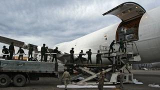 Мьянмарский транспортный самолет