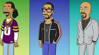 Snoop Dogg, RZA and Common in The Simpsons
