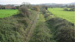 Current railway line