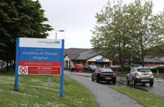 The Countess of Chester hospital is accepting Welsh patients again