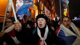 На протест у п'ятницю вийшли більше тисячі людей